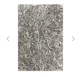 3D embossing folder: Engraved