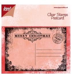 Clear Stamp Postcard