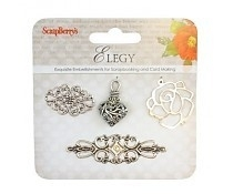 Scrapberry's: Metal charms