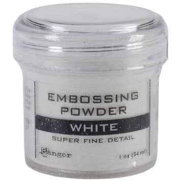 Super fine embossing poeder: wit
