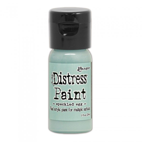 Distress paint: speckled egg