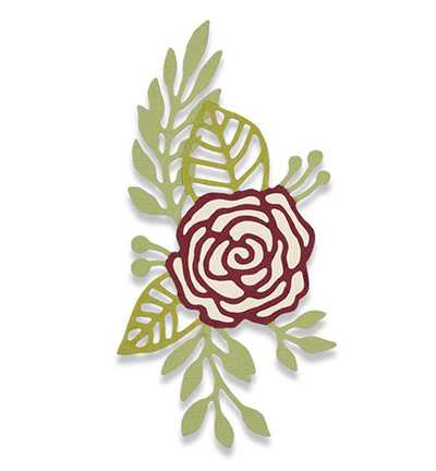 Sizzix: Doodle rose