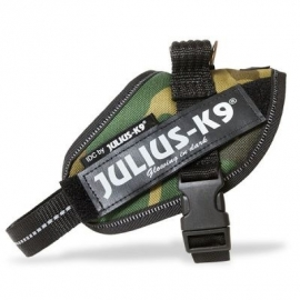 JULIUS K9 | power-harnas / tuig voor labels camouflage