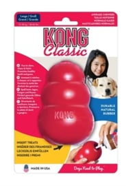 Kong | Classic rood Large 7x7x10 cm