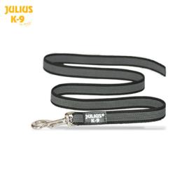 Anti slip honden riem Zwart 20mm x 1,2mtr