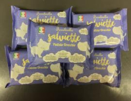 Verfrissende natte doekjes van Ferribiella voor oren