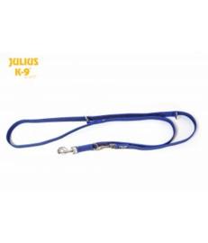 Dubbele Anti slip honden riem Blauw 20mm x 2,2mtr