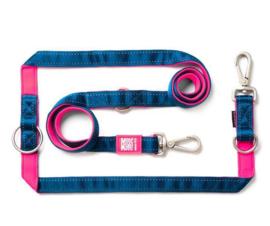 Max & Molly | Hondenlijn - Matrix Pink - S