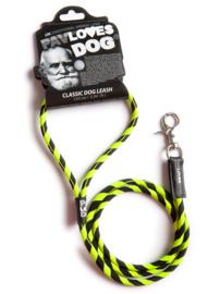Pav Loves Dog, Black - Yellow