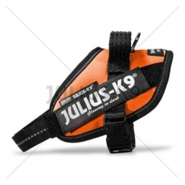 JULIUS k9 power-harnas / tuig voor labels Oranje