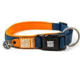 Max & Molly | Hondenhalsband - Matrix Orange - M