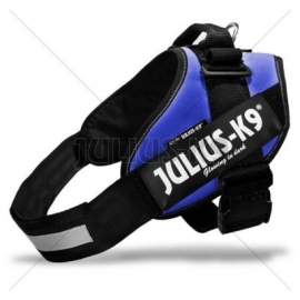 JULIUS k9 power-harnas / tuig voor labels blauw