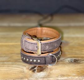 Halsband bruin 30 cm