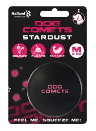 Dog Comets Stardust | Zwart met roze stuiterbal