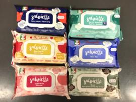 Verfrissende natte doekjes van Ferribiella