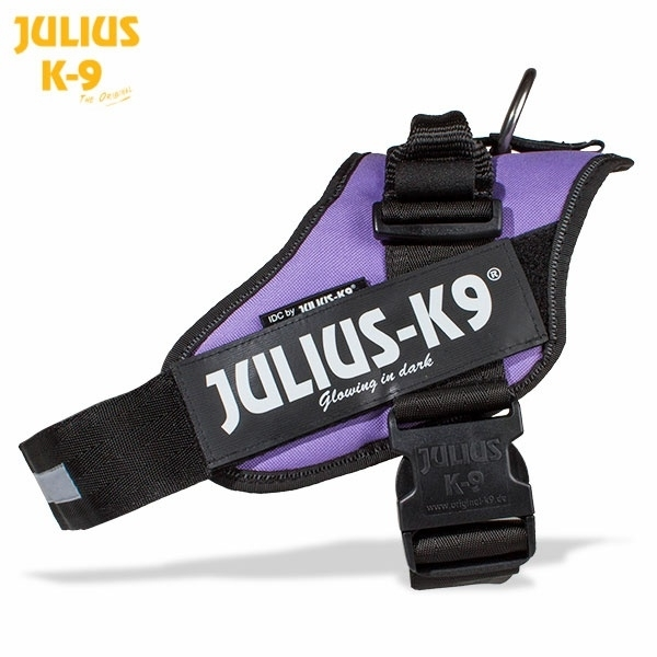 JULIUS k9 power-harnas / tuig voor labels Paars