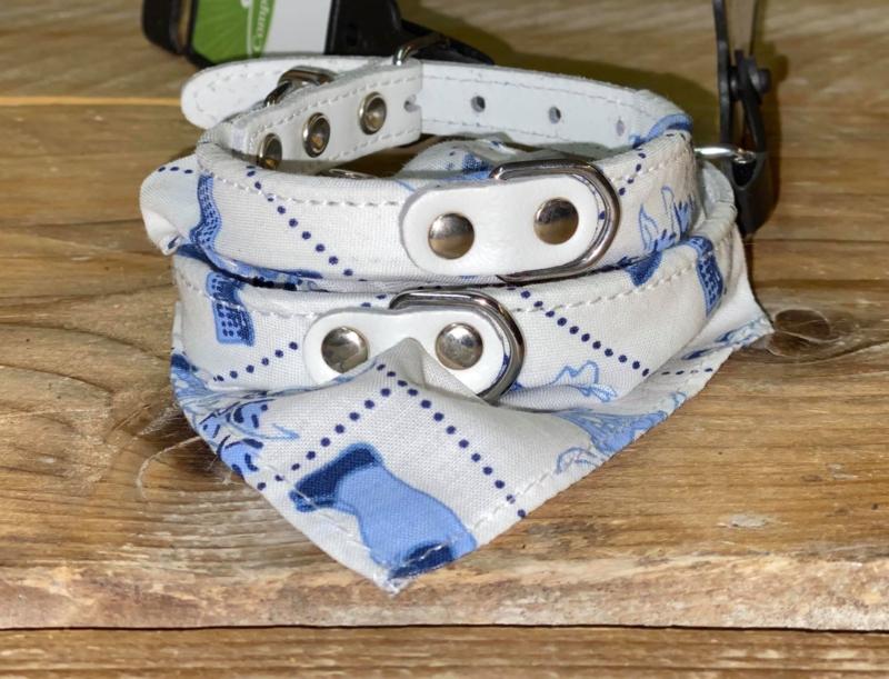 Competition | Witte zakdoek halsband