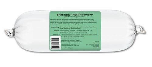 BARFMENU hert premium 1000 GR