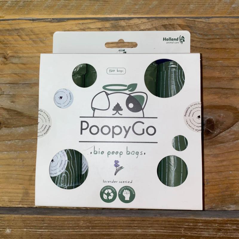 PoopyGo | Bio poepzakjes 8 x 15