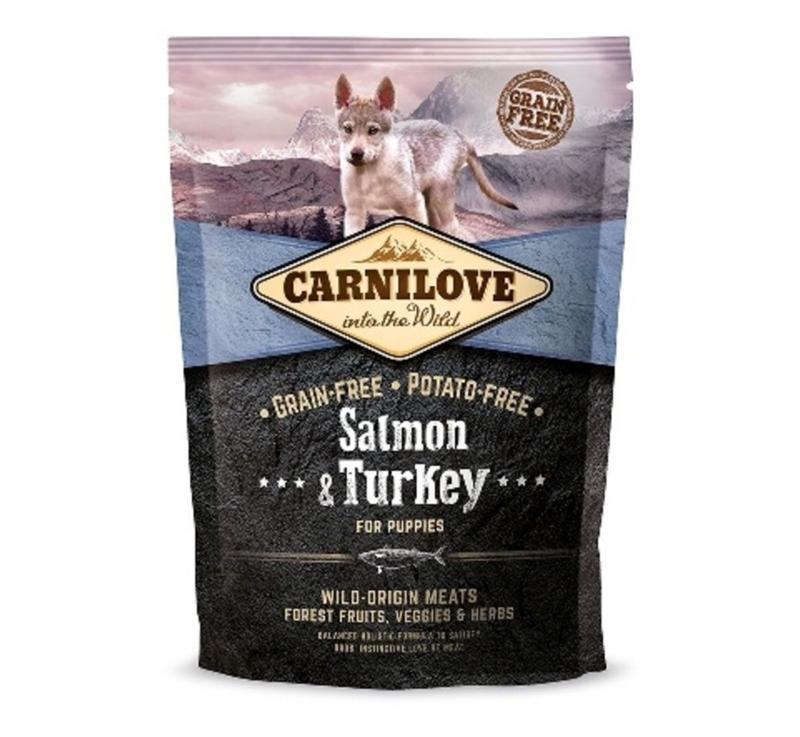 Salmon & Turkey puppies 1,5kg