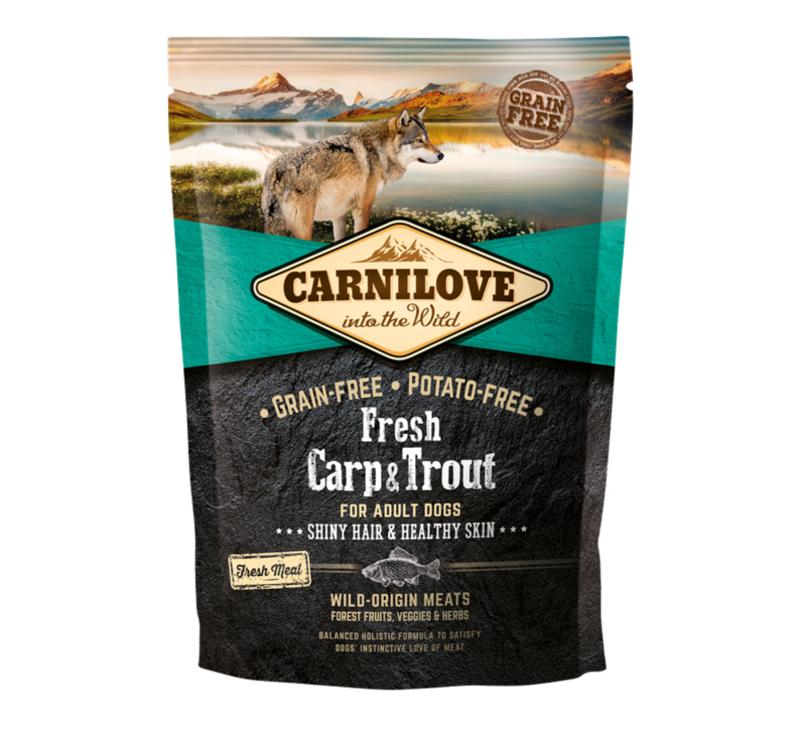 CL Dog Fresh Carp & Trout Shiny hair& healthy skin 1,5kg