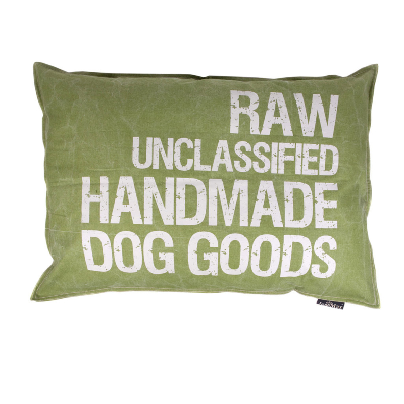 Lex & Max Kussen Raw Unclassified Groen