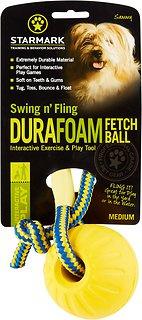 Starmark | Swing n' Fling Durafoam Fetch Ball