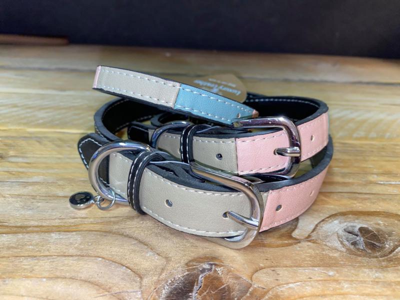 Rosewood | Halsband Multicolor, Roze, Blauw, Grijs en Zwart