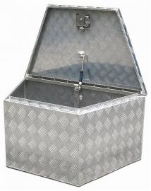 Aluminium Box schuin