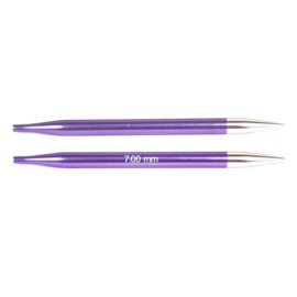 KnitPro Zing Verwisselbare Breipunten 7.00 mm