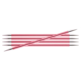 KnitPro Zing Sokkennaalden 15cm 6.50 mm