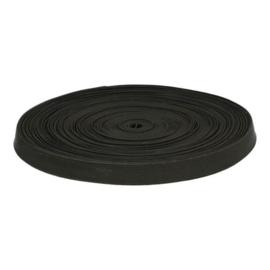 Stevig elastiek zwart verschillende maten