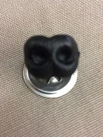 Veiligheidshondenneus 15 mm zwart