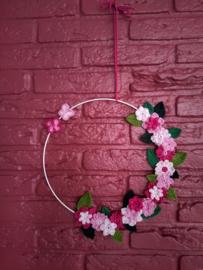 Kleurrijke Bloemenkrans