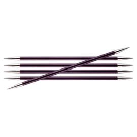 KnitPro Zing Sokkennaalden 15cm 6.00 mm