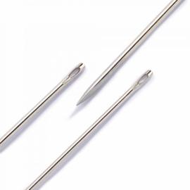 Prym Leernaalden No. 3-7 zilverkleurig