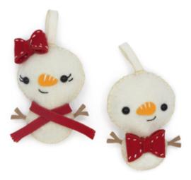 Vilthangers Sneeuwpopjes