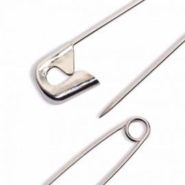 Prym Veiligheidsspelden staal 27-38-50 mm zilver