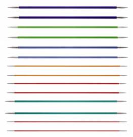 KnitPro Zing Sokkennaalden 15 cm