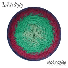 Whirligig 214 Sapphire to Jade