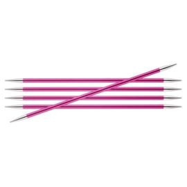 KnitPro Zing Sokkennaalden 15cm 5.00 mm