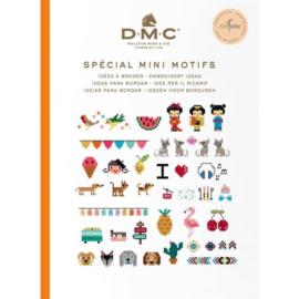 DMC Boek ideeën om te borduren (verschillende soorten)
