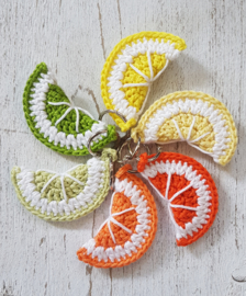 Frisse Fruit sleutelhanger