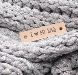 Label I love my bag