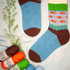 Punto 34 How to knit Socks