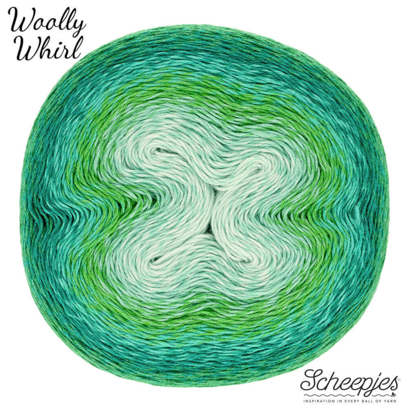Woolly Whirl 475 Melting Mint Centre