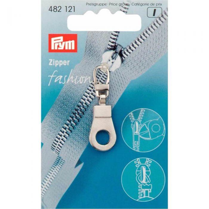 Prym Ritsenschuiver ring zilver