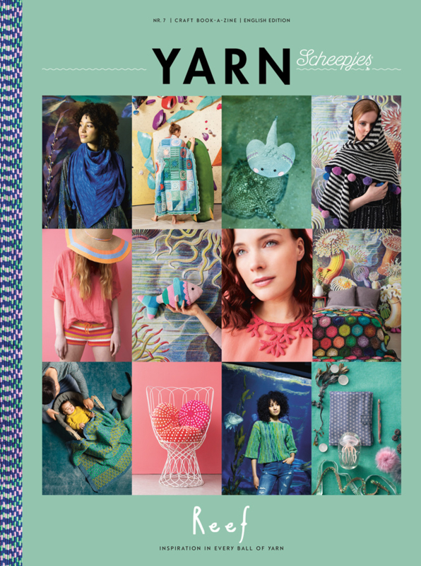 Scheepjes Bookazine Yarn  7 Reef