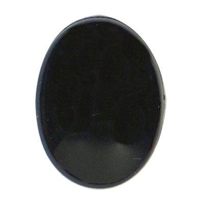 Veiligheidsogen ovaal zwart 10mm