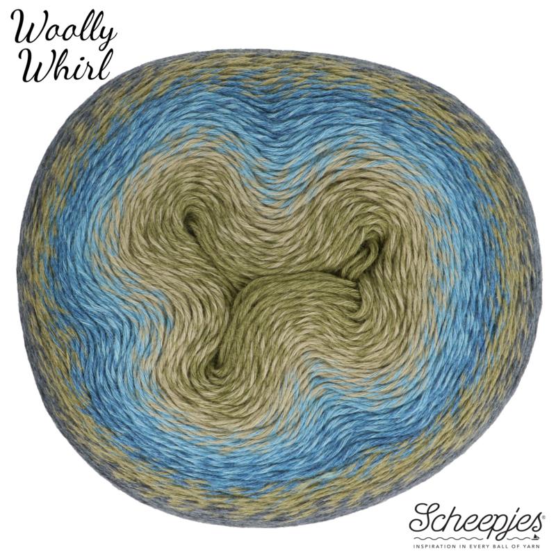 Woolly Whirl 473 Kiwi Drizzle